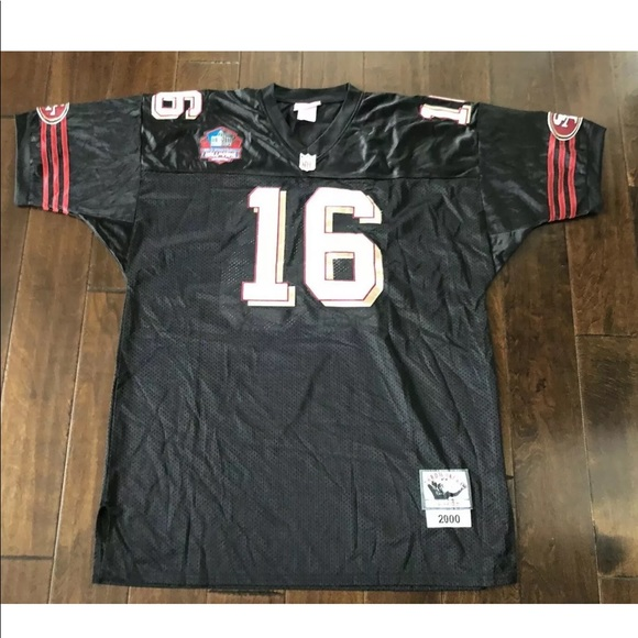 timeless design 5c0f2 d5f60 San Francisco 49ers Joe Montana Throwback Jersey
